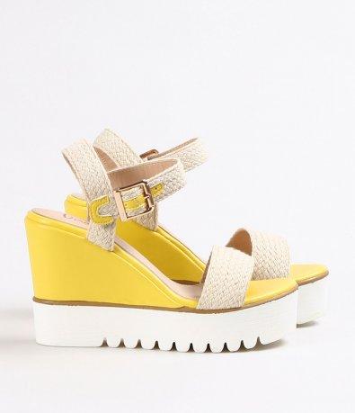 Дамски модерни сандали с платформа 4561