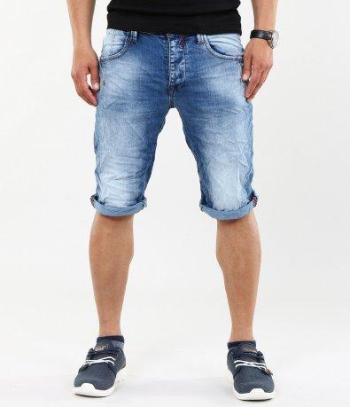 Мъжки къси дънкови панталони 4610
