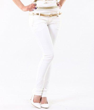 Дамски втален бял панталон 4801