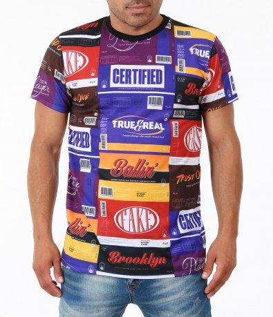 Цветна мъжка тениска 4910