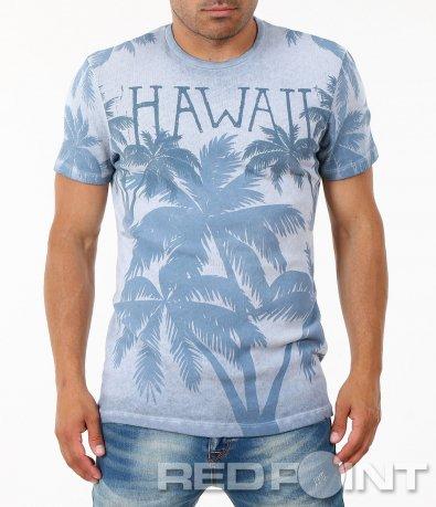 Мъжка светло синя тениска 4906