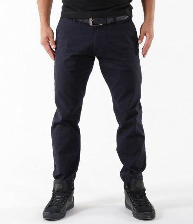 Спортно-елегантен панталон с колан 5276