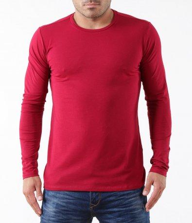 Изчистена блуза с дълъг ръкав 5296
