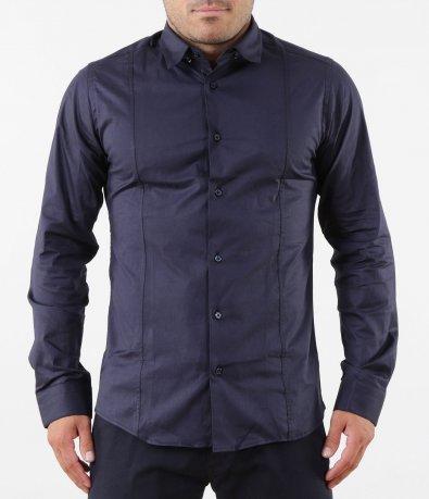 Изчистена синя риза 5255