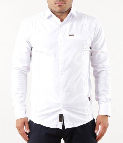 Изчистена slim fit риза 5258