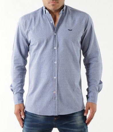 Светло синя риза с орнаменти 5345
