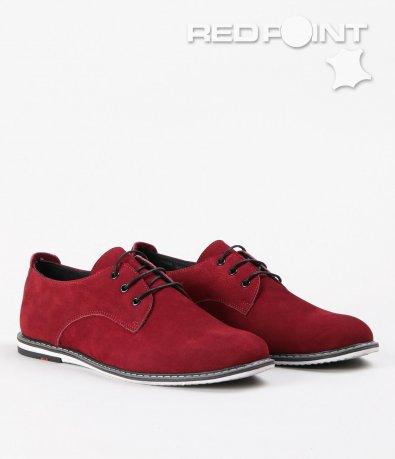 Мъжки елегантни велурени обувки 5375