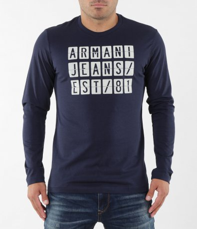 Изчистена блуза с надпис 5377