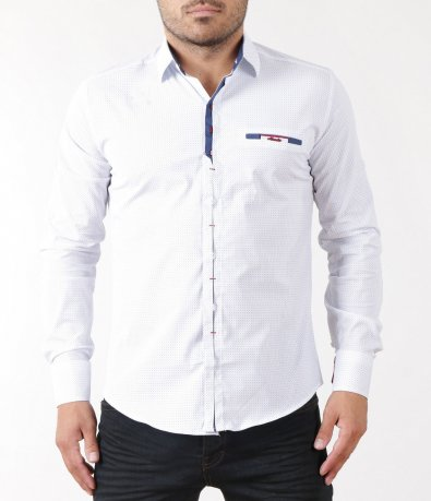 Елегантна риза с акцент 5420