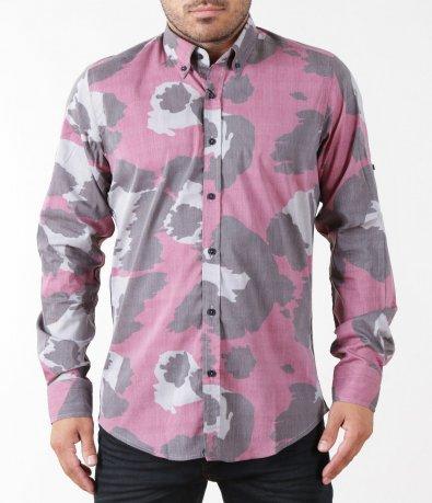 Спортна камуфлажна риза 5421