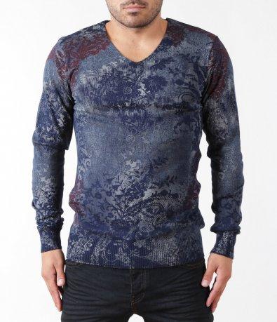 Ефектен мъжки пуловер 5293
