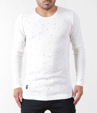 Ефектен пуловер 5408