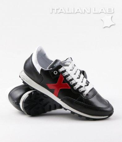 Спортни черни обувки 5457
