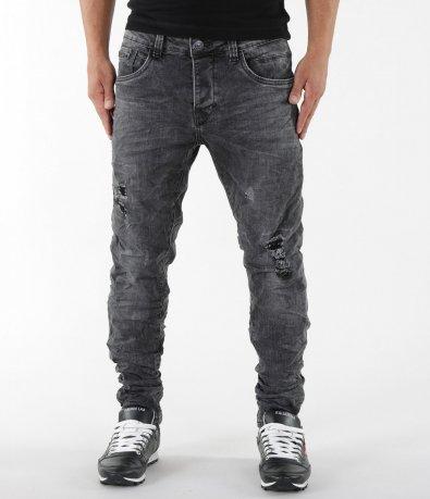 Черни актуални дънки 5502