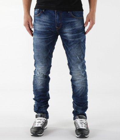 Удобни сини дънки 5507