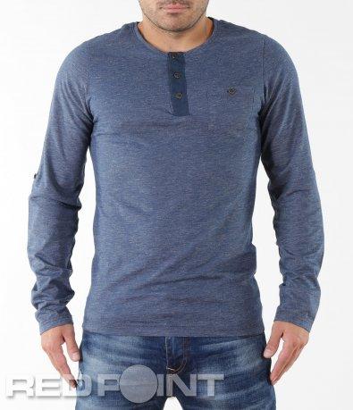 Ежедневна синя блуза 5544