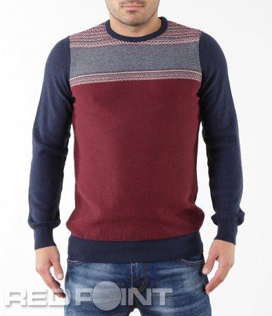 Стилен мъжки пуловер 5546