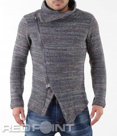 Нестандартна плетена жилетка 5558