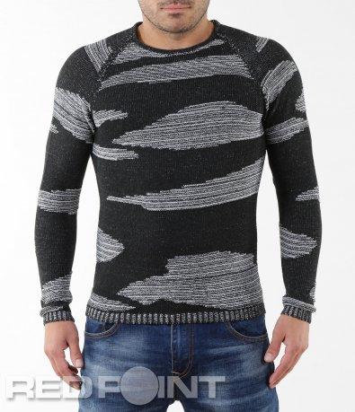 Ефектен пуловер 5567