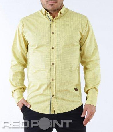 Атрактивна риза с дълъг ръкав 5573