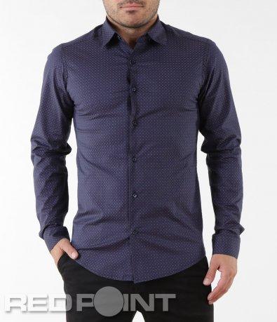 Ефектна риза с орнаменти 5581