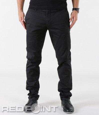 Спортно-елегантен черен панталон 5585