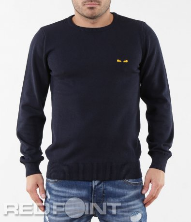 Изчистен пуловер 5645
