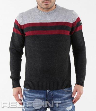 Спортно-елегантен пуловер 5649