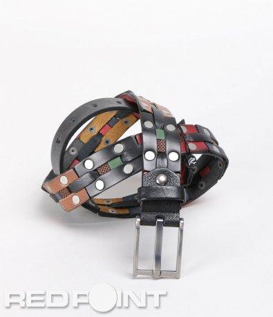 Цветен колан с метални капси 5688