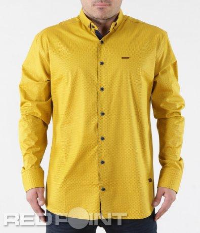 Риза с дълъг ръкав на точки 5709