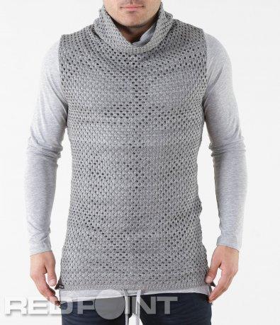 Ексцентрична блуза тип поло 5727