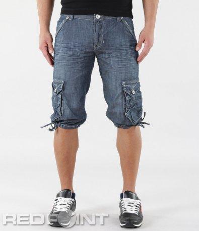 Къси дънки със странични джобове 5768