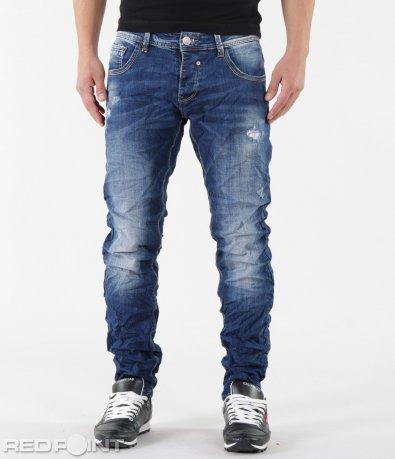 Сини дънки с изсветлял ефект 5815