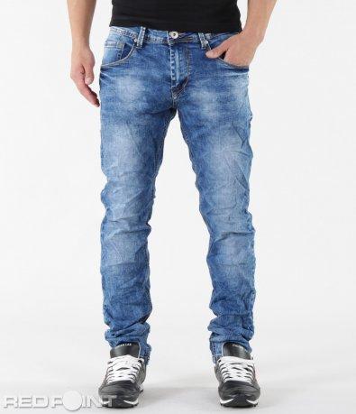 Модерни дънки в син цвят 5796