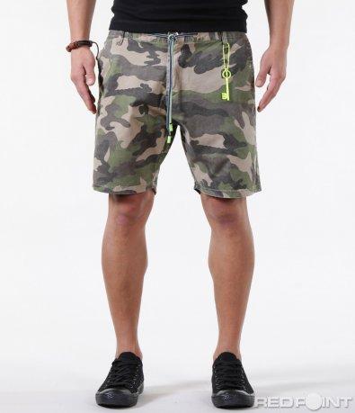 Къси камуфлажни панталони от плат 5861