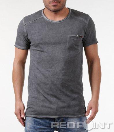 Изчистена сива тениска 5831