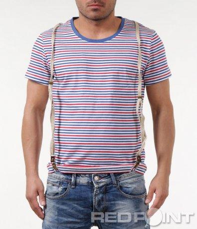 Интересна тениска райе 5846