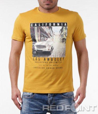 Тениска с ретро мотив 5849