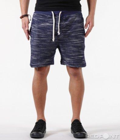 Спортни къси панталони в меланж десен 5853