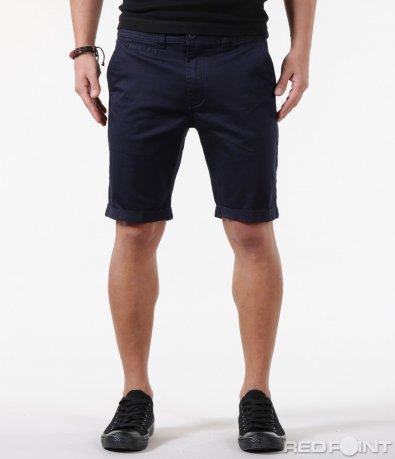 Изчистени къси панталони от плат 5856