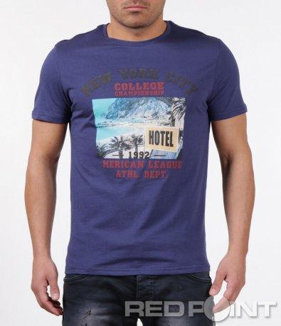 Тениска с летен принт 5906