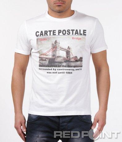 Тениска с голяма щампа 5908