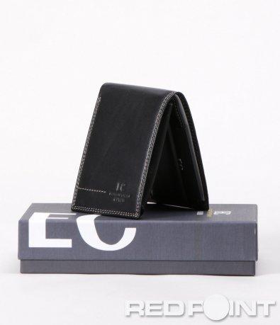 Стилен портфейл в черен цвят 5923