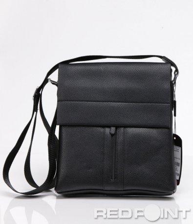 Ефектна чанта с капак и цип 5935