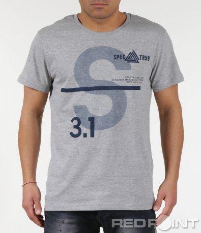 Тениска със семпъл дизайн 6007