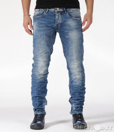 Семпли джинси с изсветлял ефект 6019