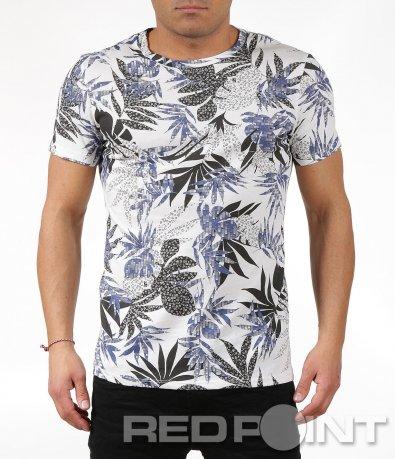 Тениска с листа 6042