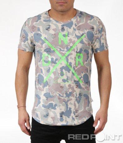 Камуфлажна тениска 6051