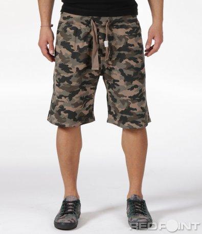 Къси панталони в камуфлажен стил 6055