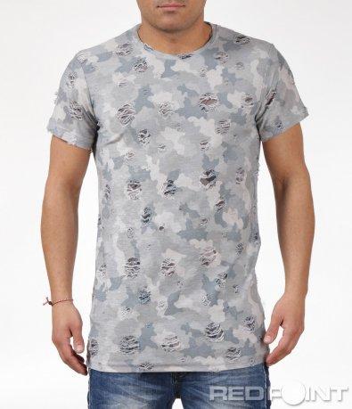 Камуфлажна тениска 6065